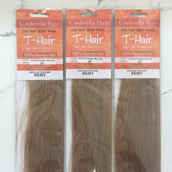 Cinderella Hair Extensions Accessories Thair Tape Extensions